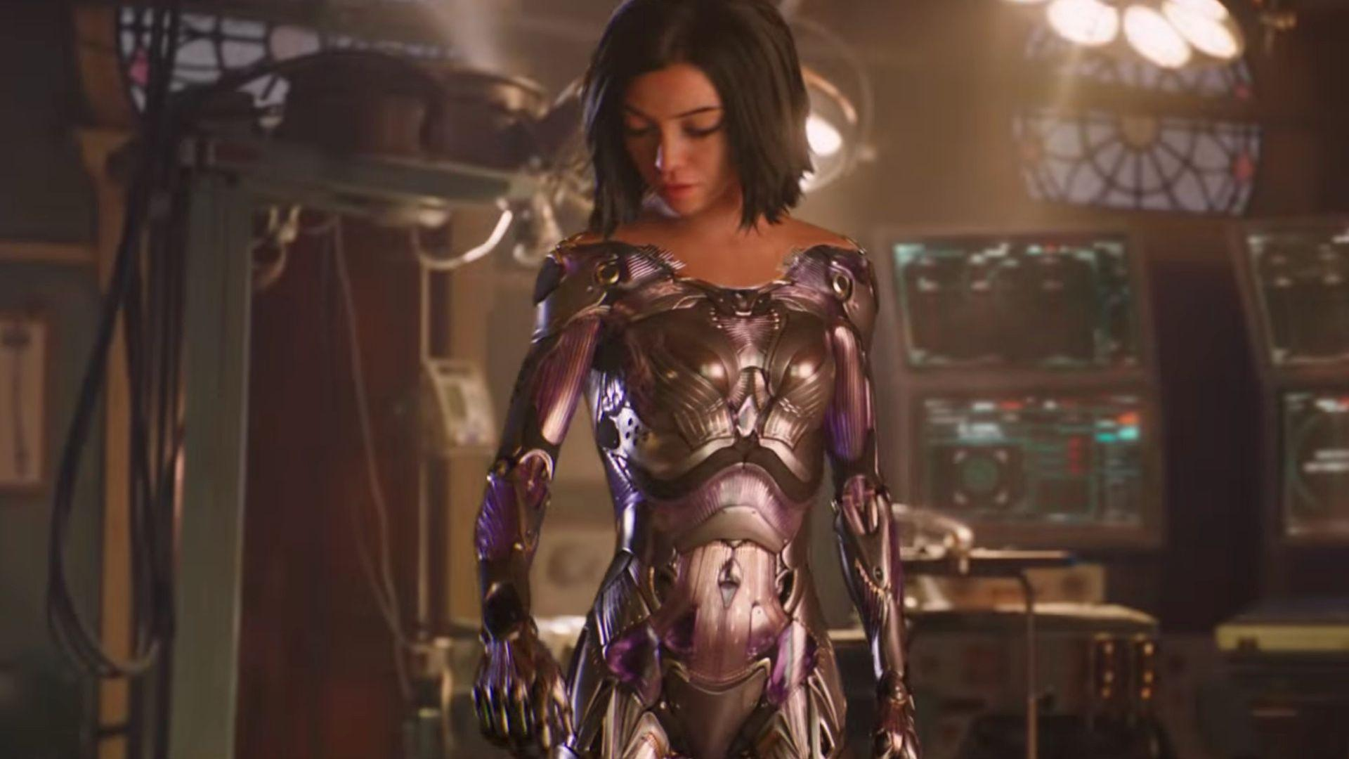 Seriously Kickass New Trailer For ALITA: BATTLE ANGEL!