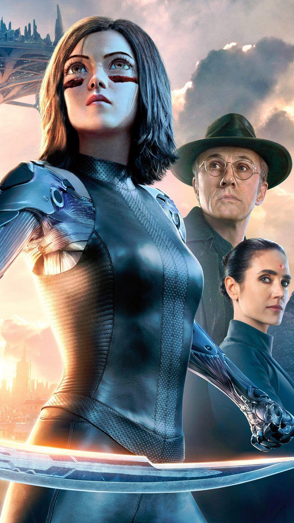 Download Alita Battle Angel Sci Fi Movie 2019 Free Pure 4K Ultra HD