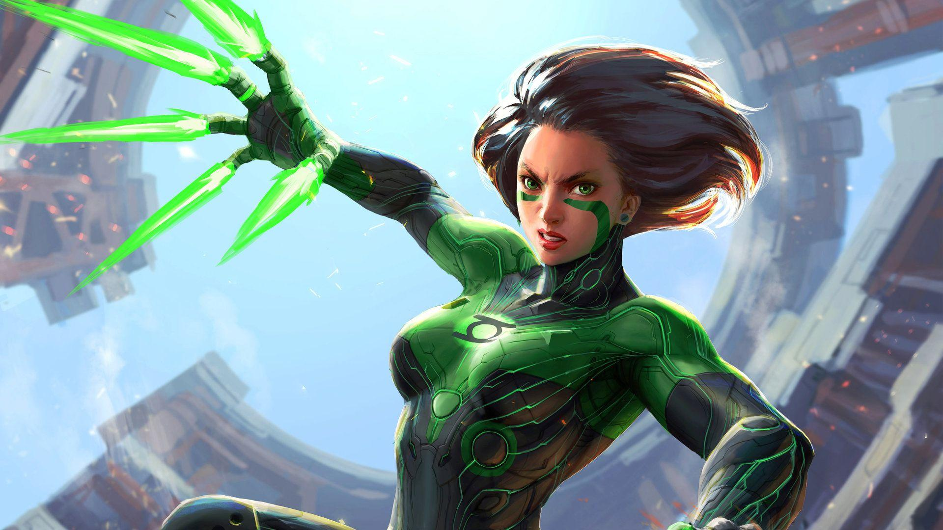 Green Alita Battle Angel, HD Movies, 4k Wallpapers, Image