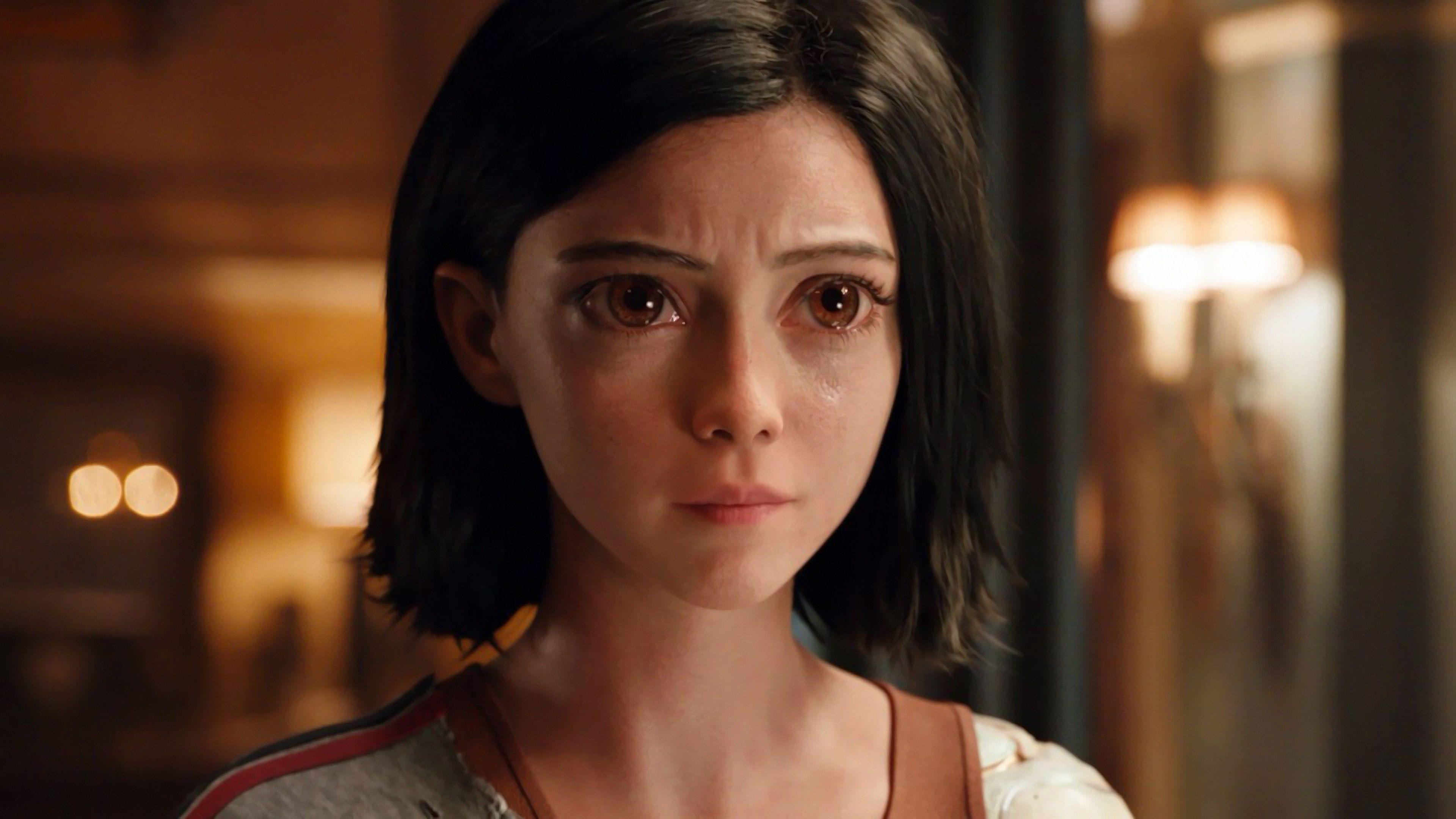 Alita: Battle Angel Rosa Salazar 4K Wallpapers Alita: Battle Angel