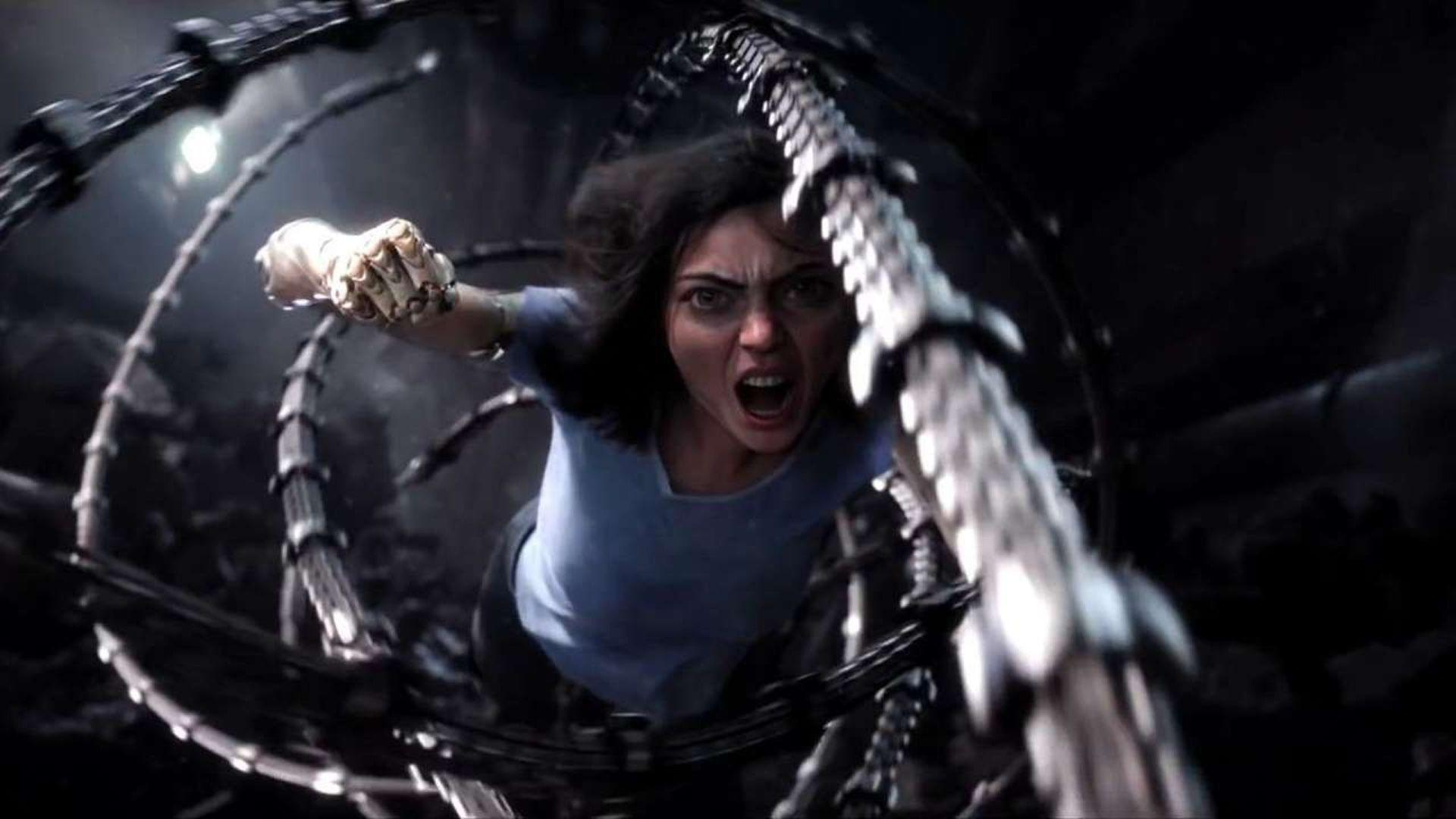 New Footage of Robert Rodriquez and James Cameron's ALITA: BATTLE