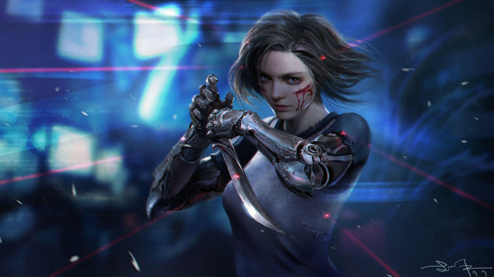 Alita Battle Angel Wallpaper. alita battle angel releases three new
