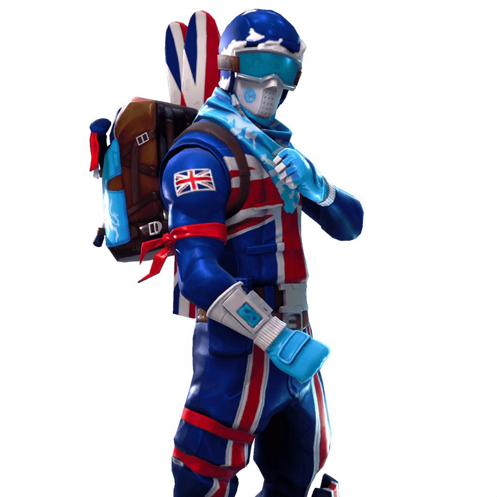 Alpine Ace (GBR) Great Britain Fortnite Outfit Skin | Fortnite Watch