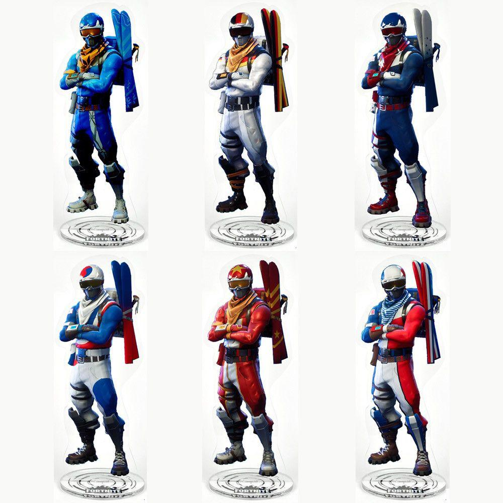 Fortnite Alpine Ace Acrylic Stand Model Toy Desk Ornaments ...