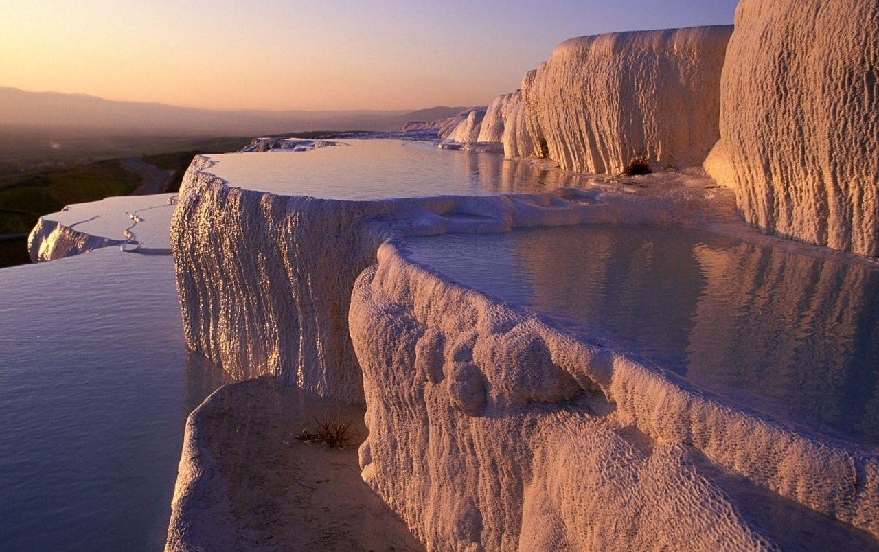 Pamukkale Water Terrace Turkey wallpapers
