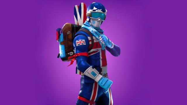 Alpine Ace Great Britain Fortnite wallpapers