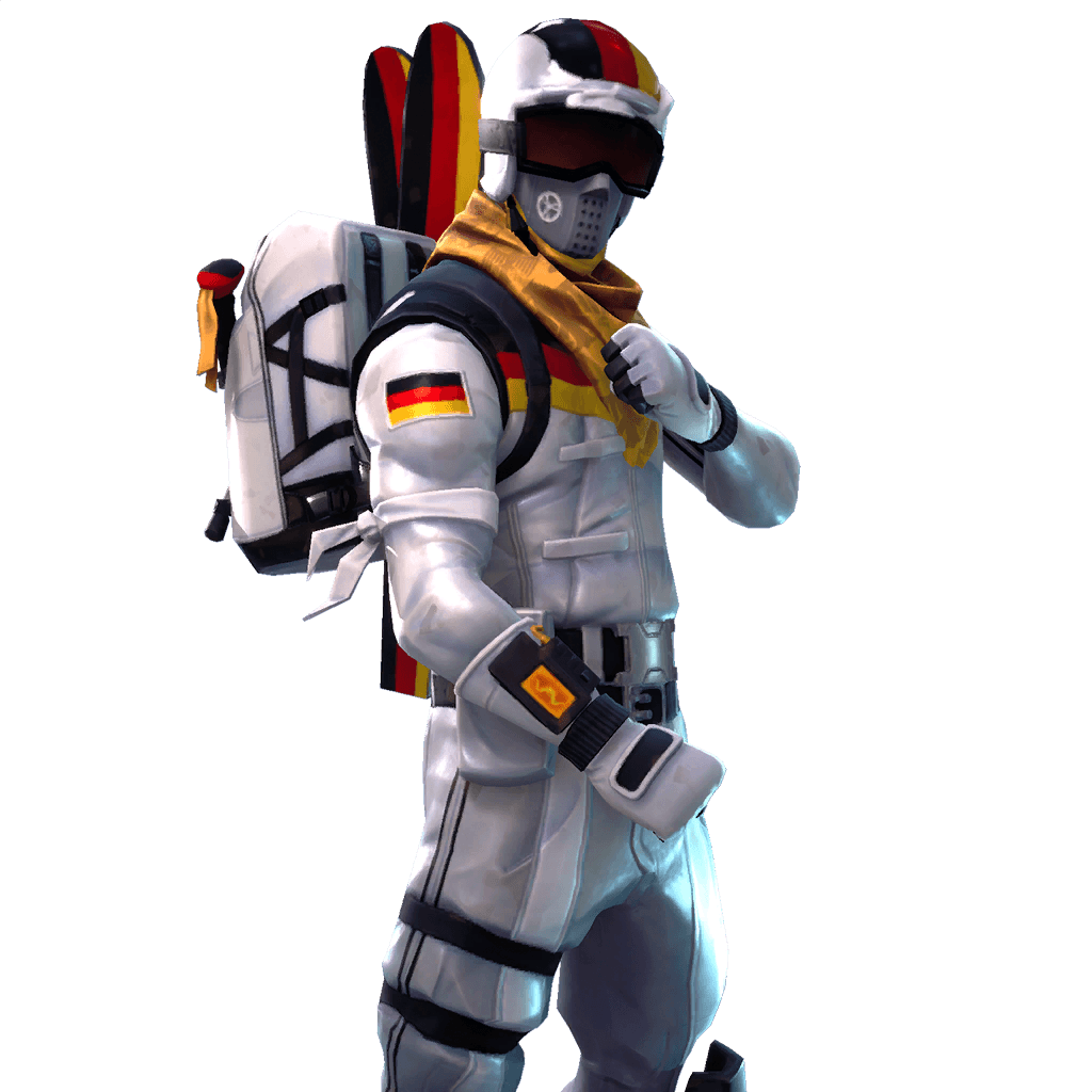 Alpine Ace (GER) Germany Fortnite Outfit Skin | Fortnite Watch