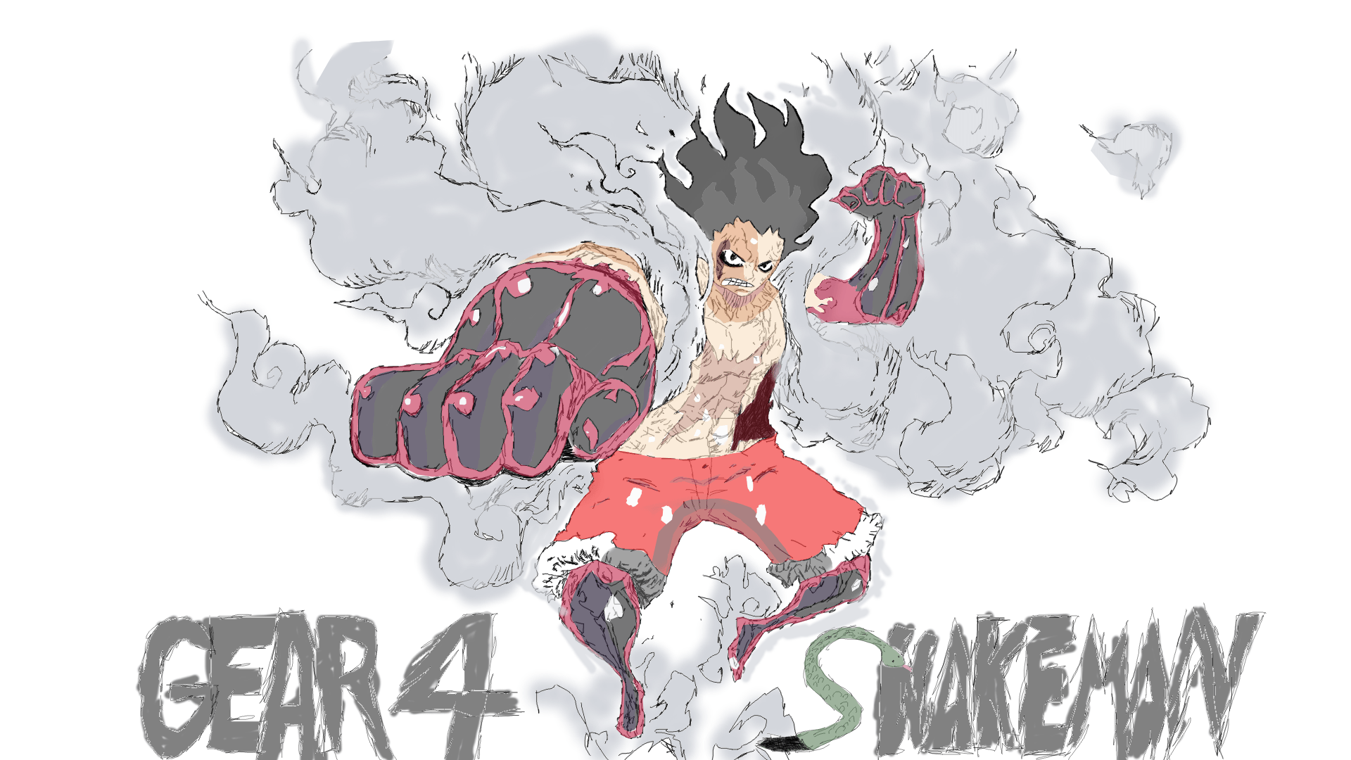 Luffy Snake Man Wallpapers Wallpaper Cave