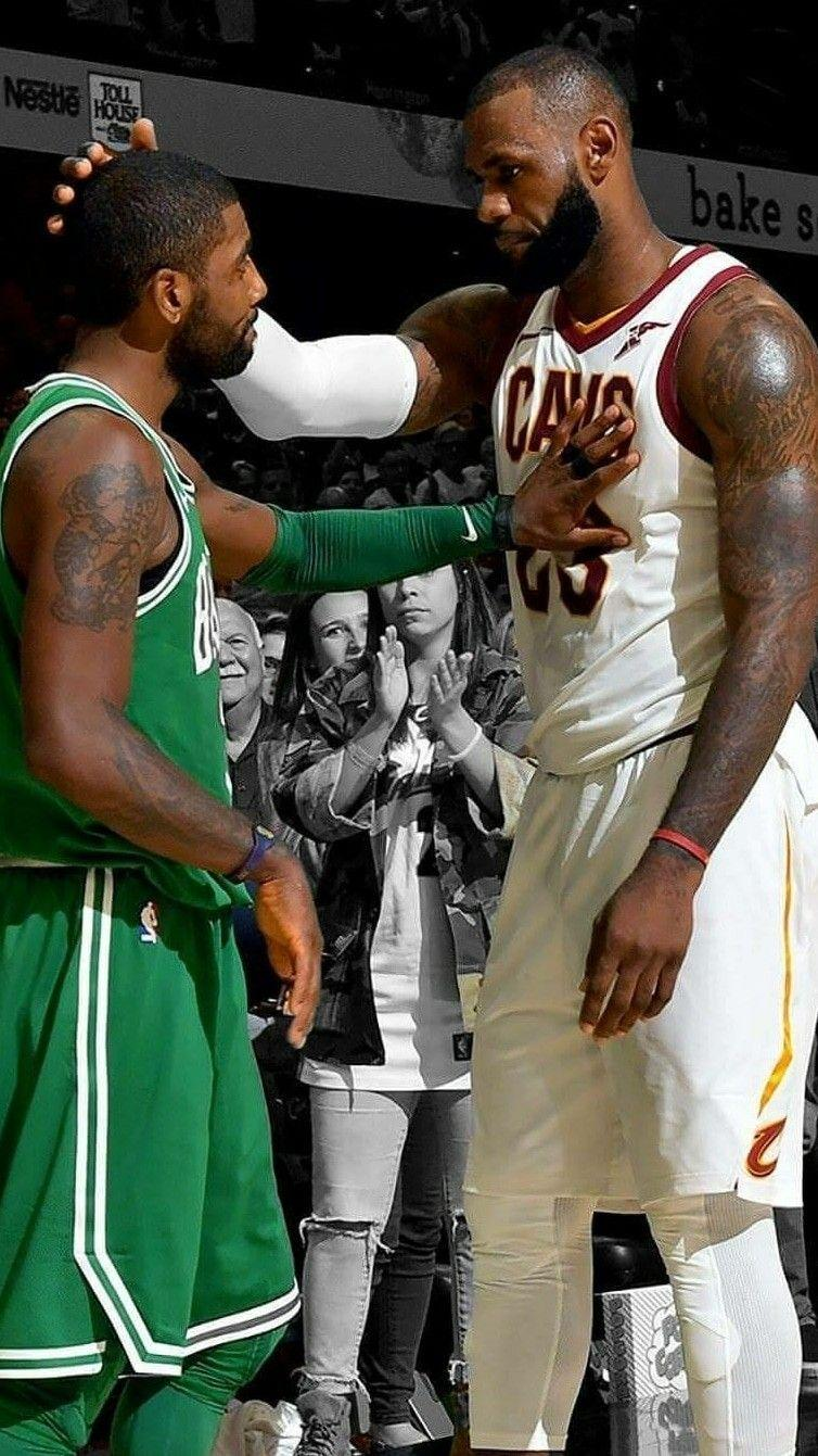 Kyrie Irving And Lebron James Wallpapers Wallpaper Cave