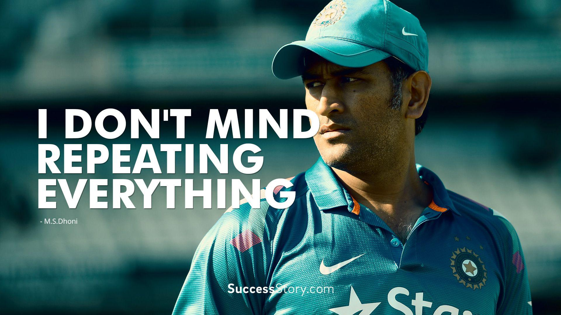 Dhoni Wallpapers Wallpaper Cave