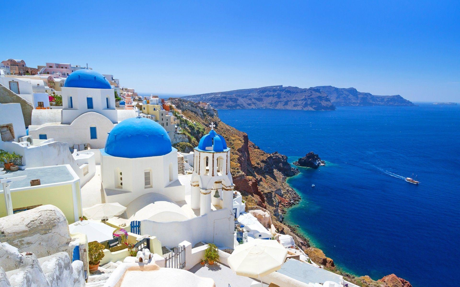 landscape, Nature, Greece Wallpapers HD / Desktop and Mobile Backgrounds