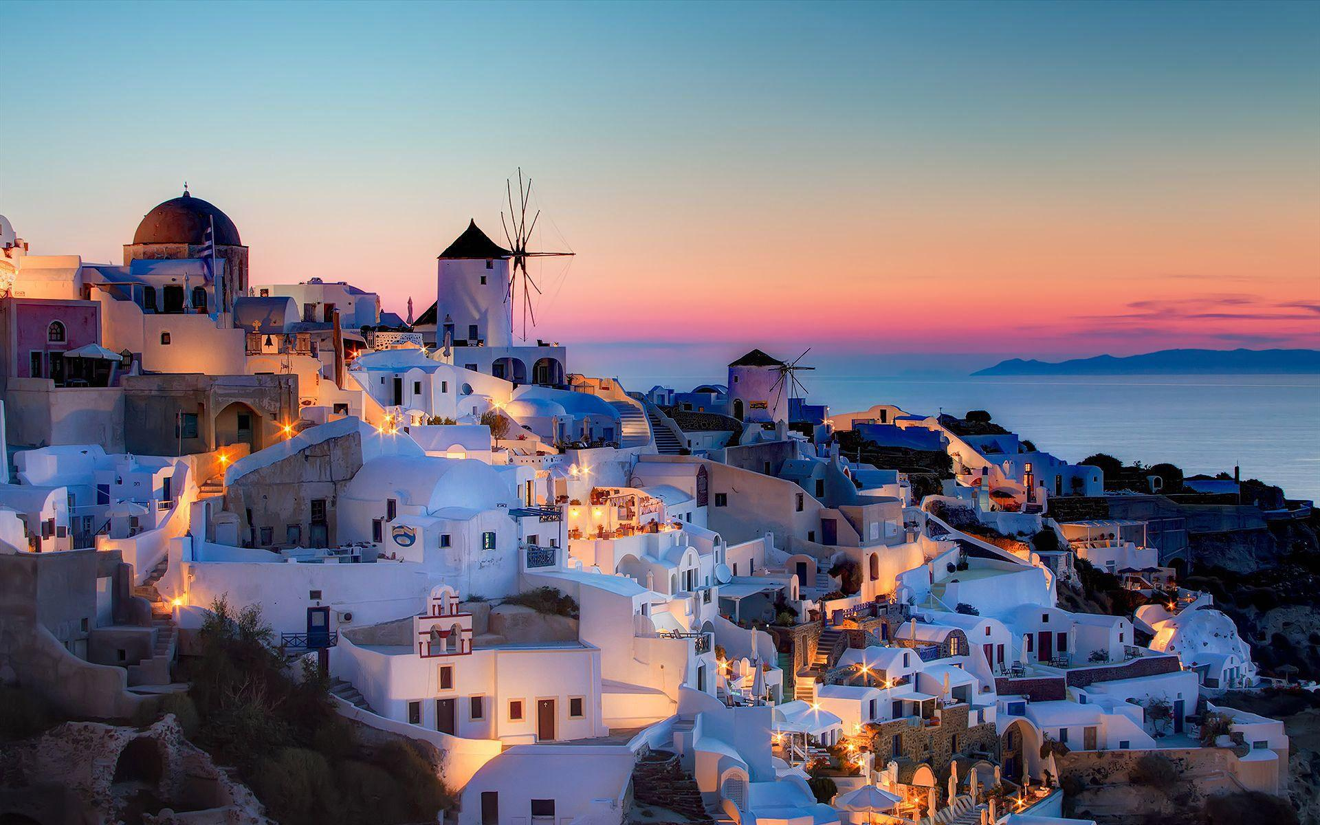 "Travel to the most romantic Greek Island ""Santorini"""