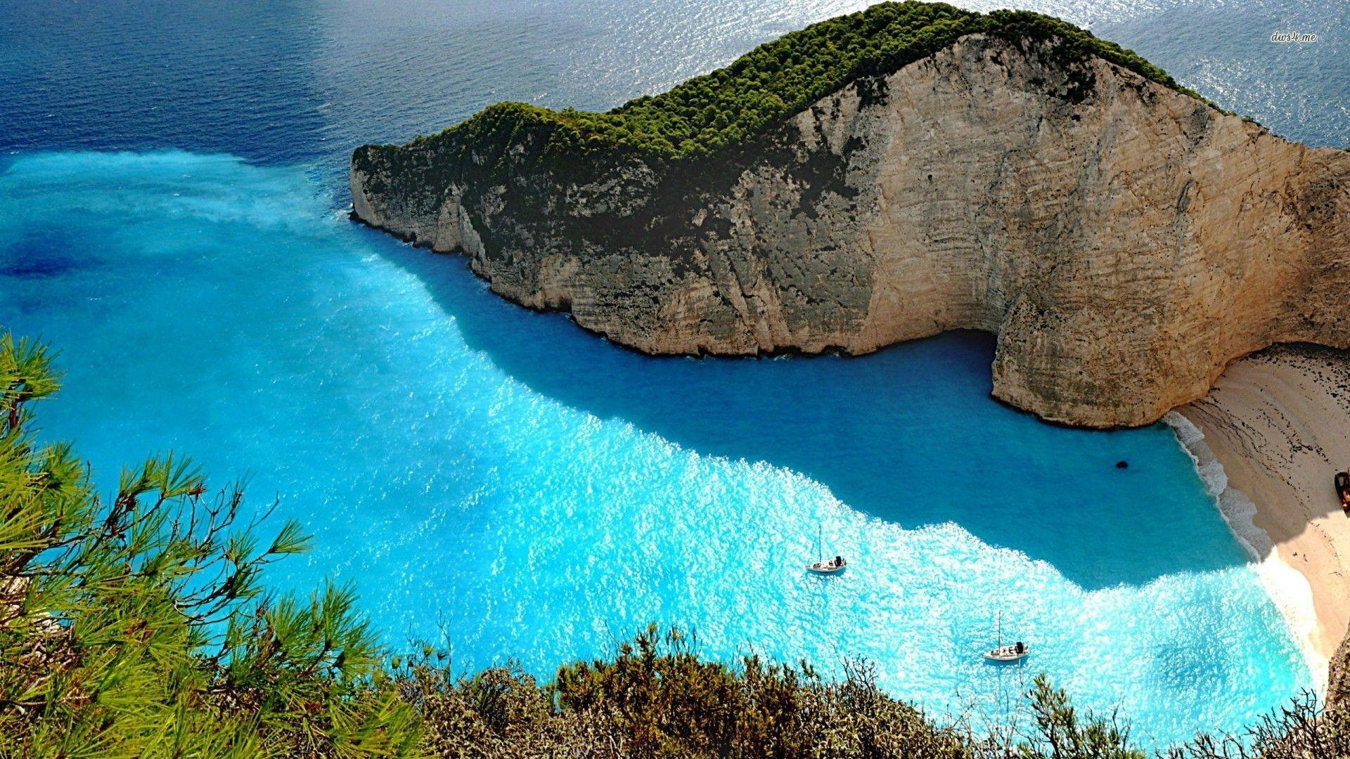 Greek Beaches Wallpapers