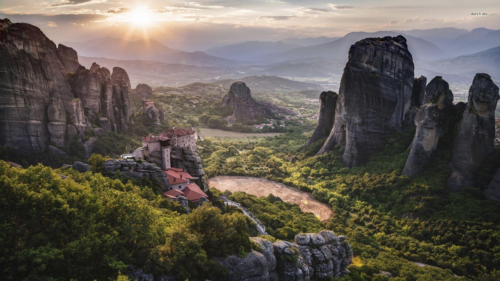 Meteora Greece Wallpapers 8