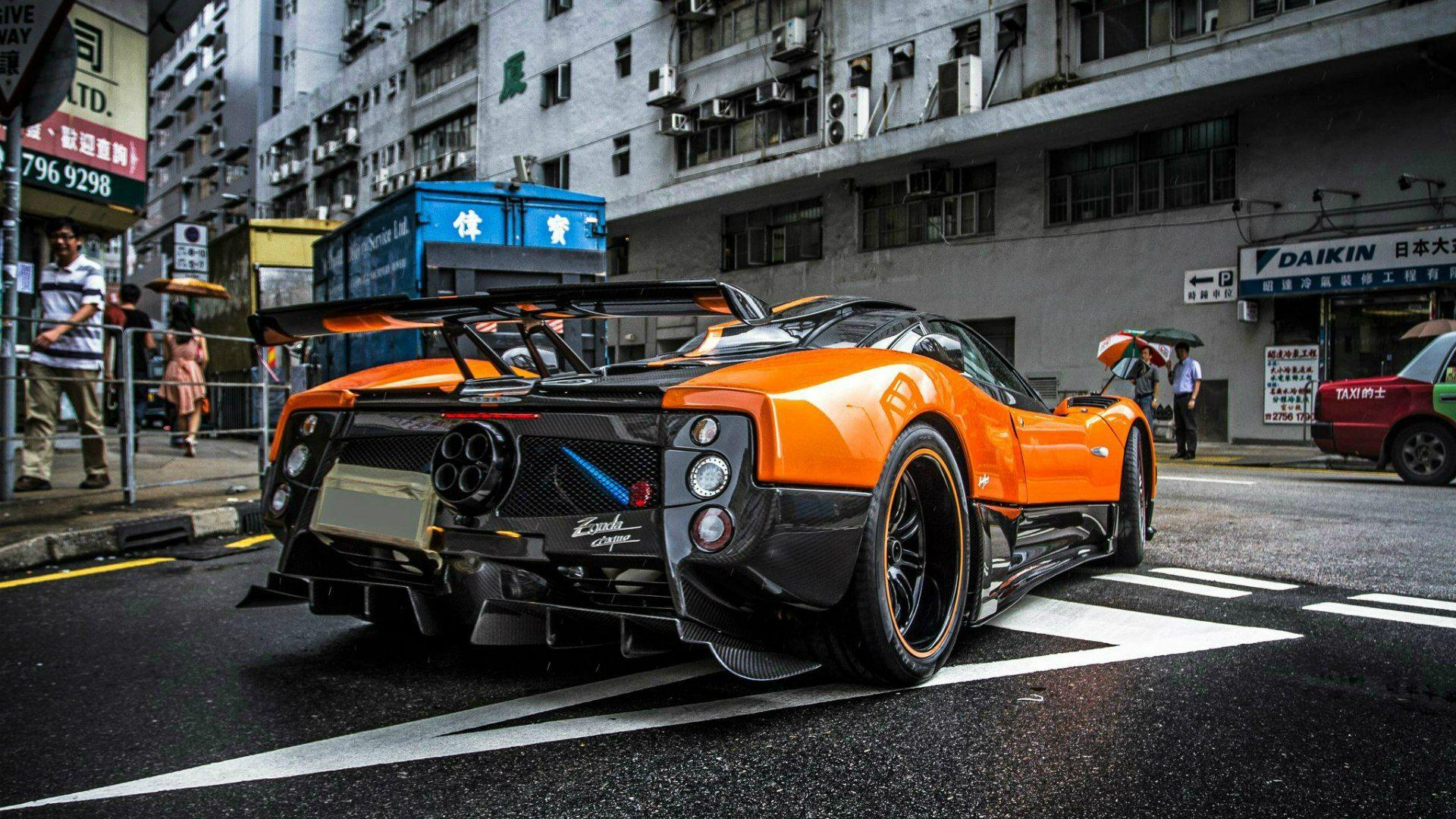 Pagani Zonda, HD Cars, 4k Wallpapers, Image, Backgrounds, Photos