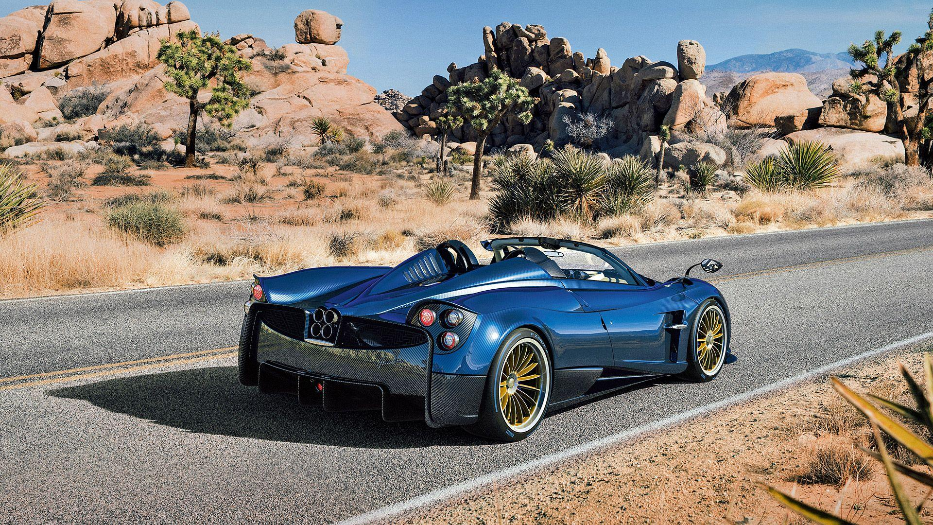 2017 Pagani Huayra Roadster Wallpapers & HD Image