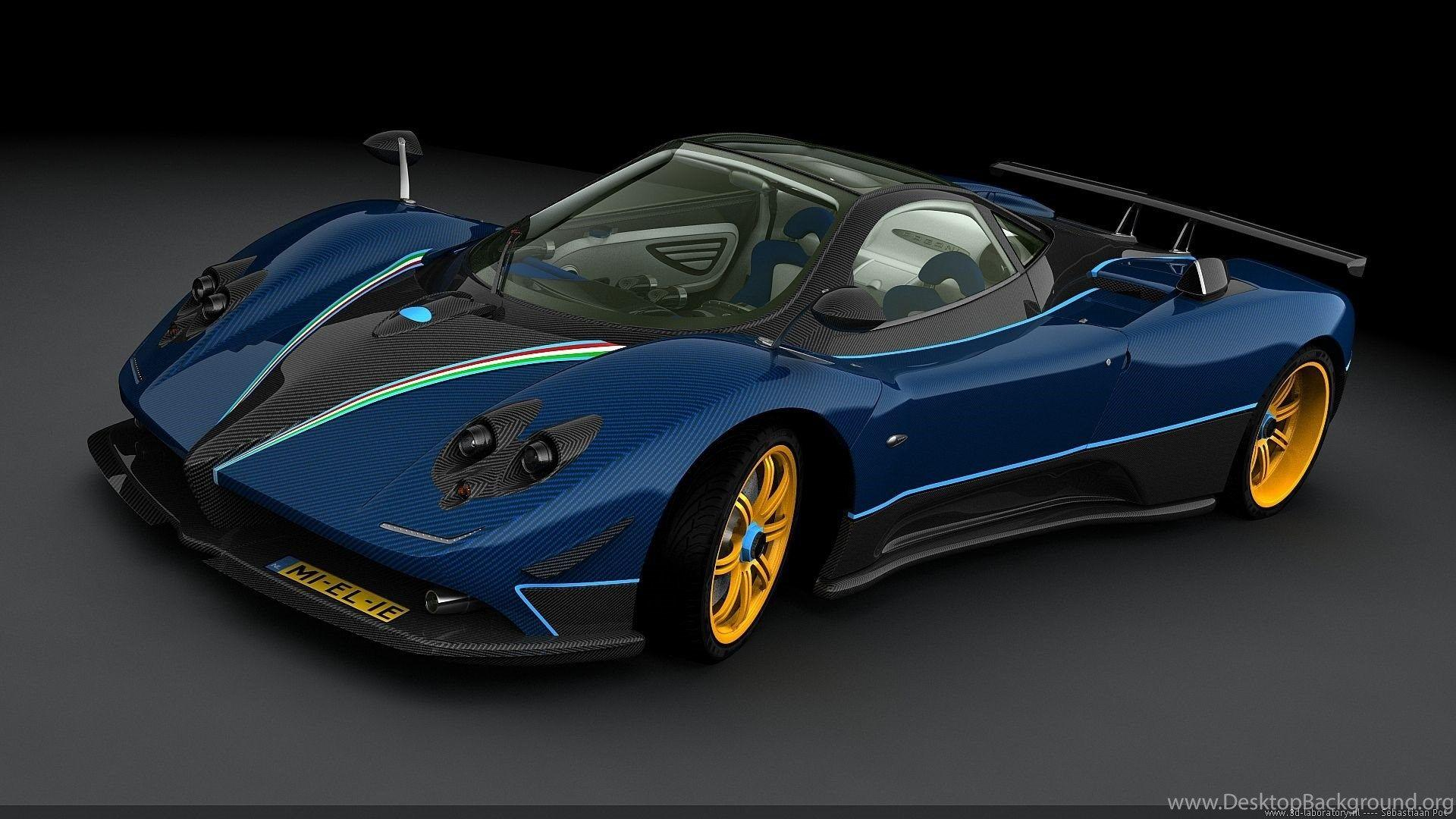 Best Pagani Zonda Wallpapers Desktop Backgrounds