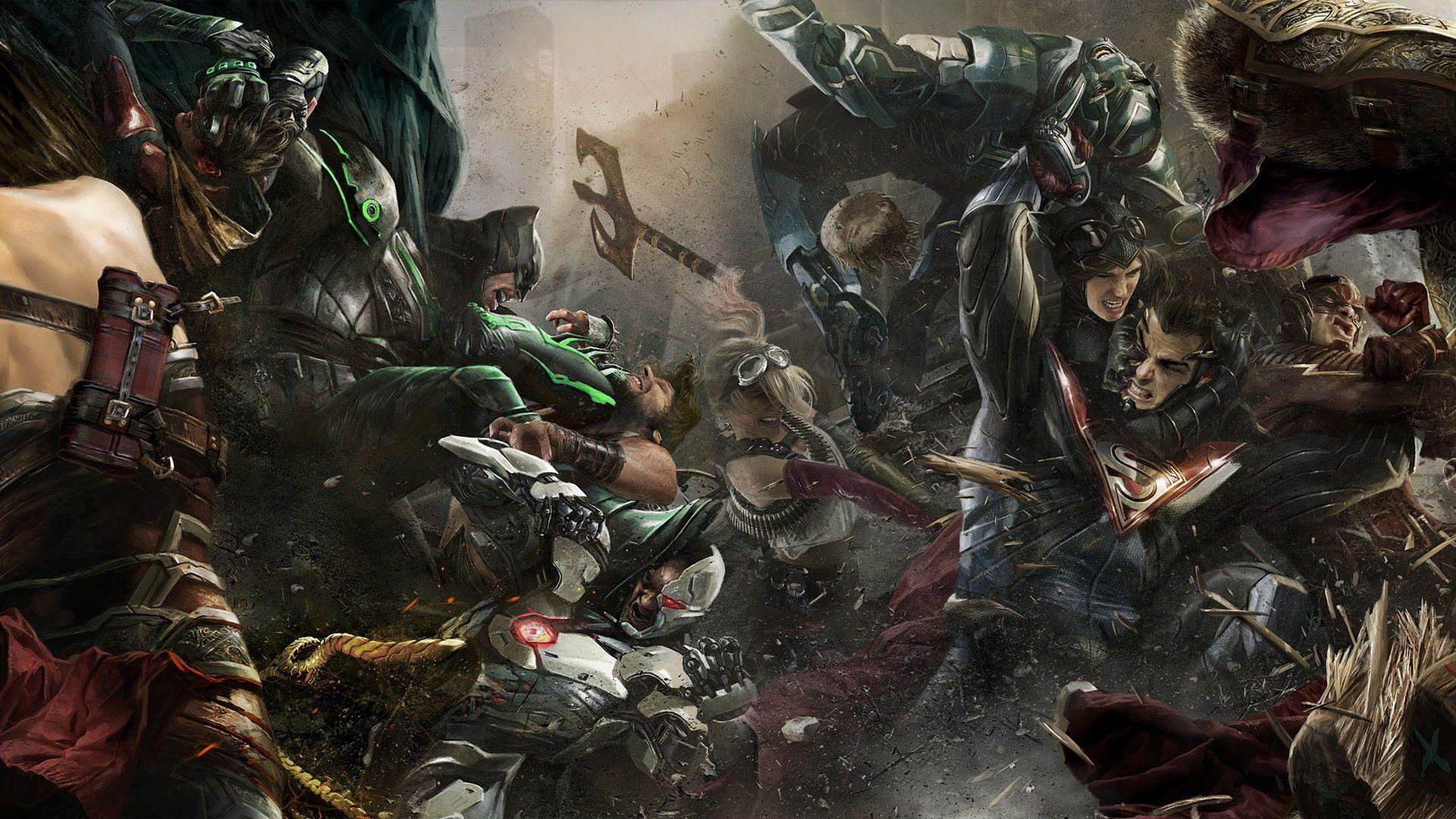 Injustice Wallpapers - Wallpaper Cave