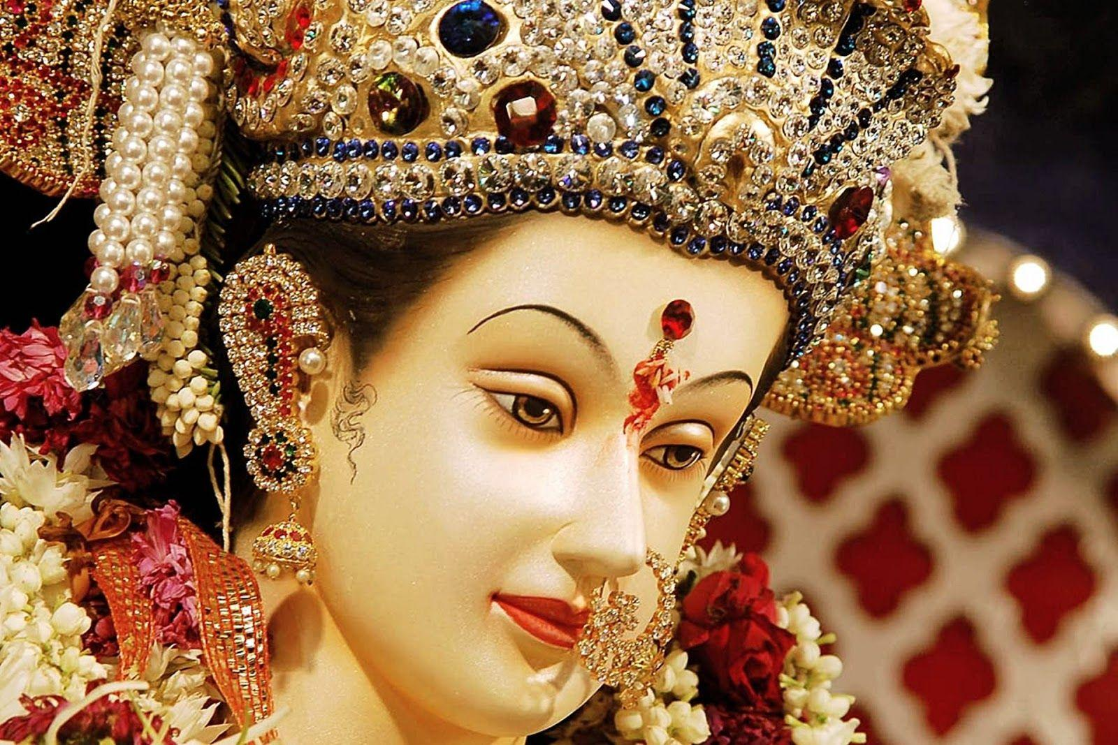 Durga Face Wallpapers Wallpaper Cave
