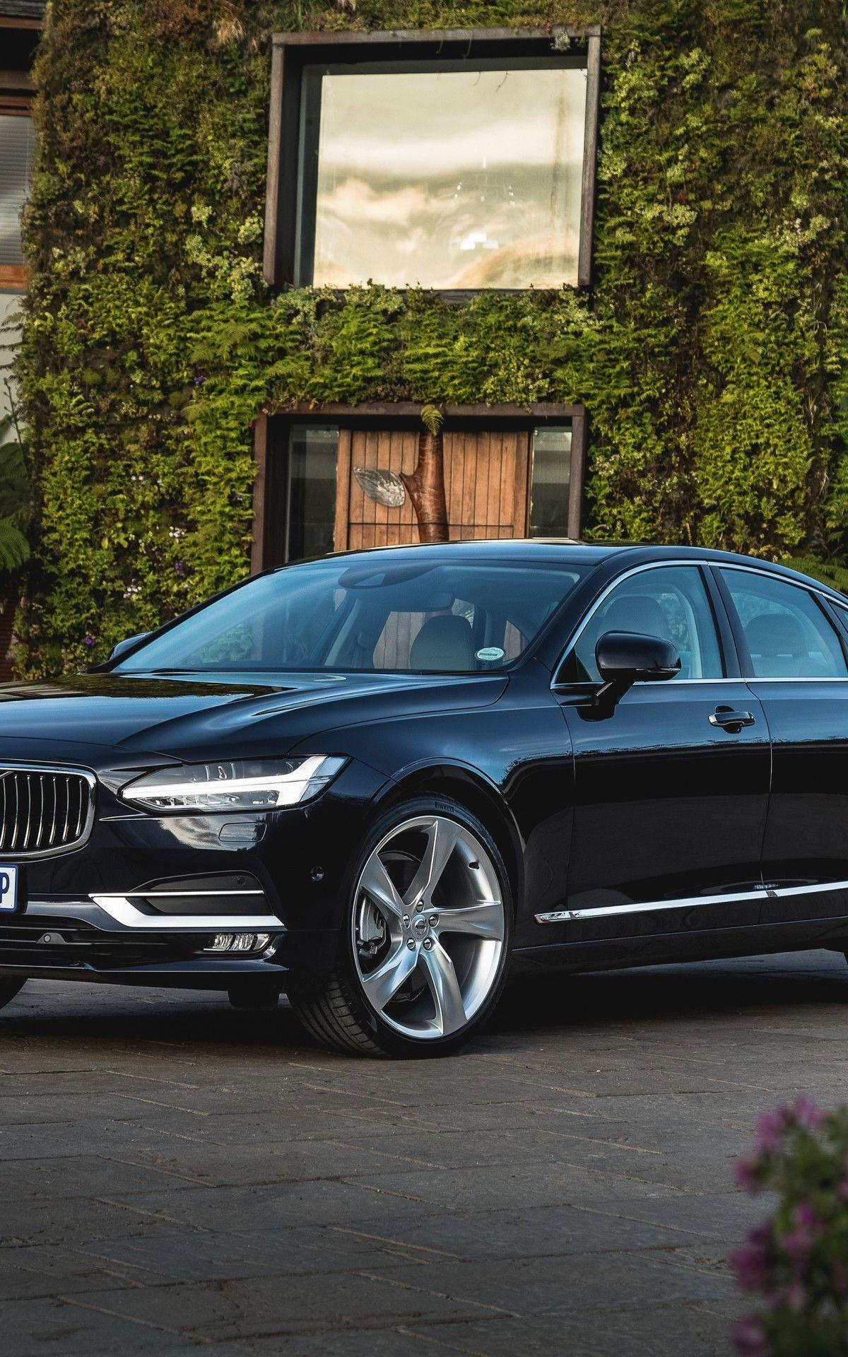 Download 1200x1920 Volvo S90, Black, Side View, Luxury, Cars ...