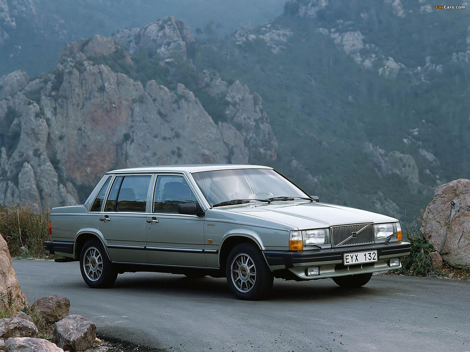 Volvo 760 GLE 1982–88 wallpapers (1600x1200)