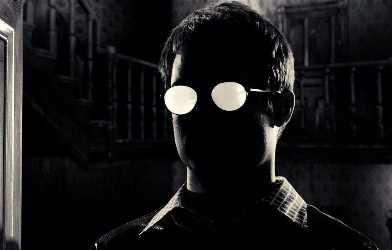 Wallpapers black, glasses, Sin City, shirt, Kevin, Elijah Wood, Sin