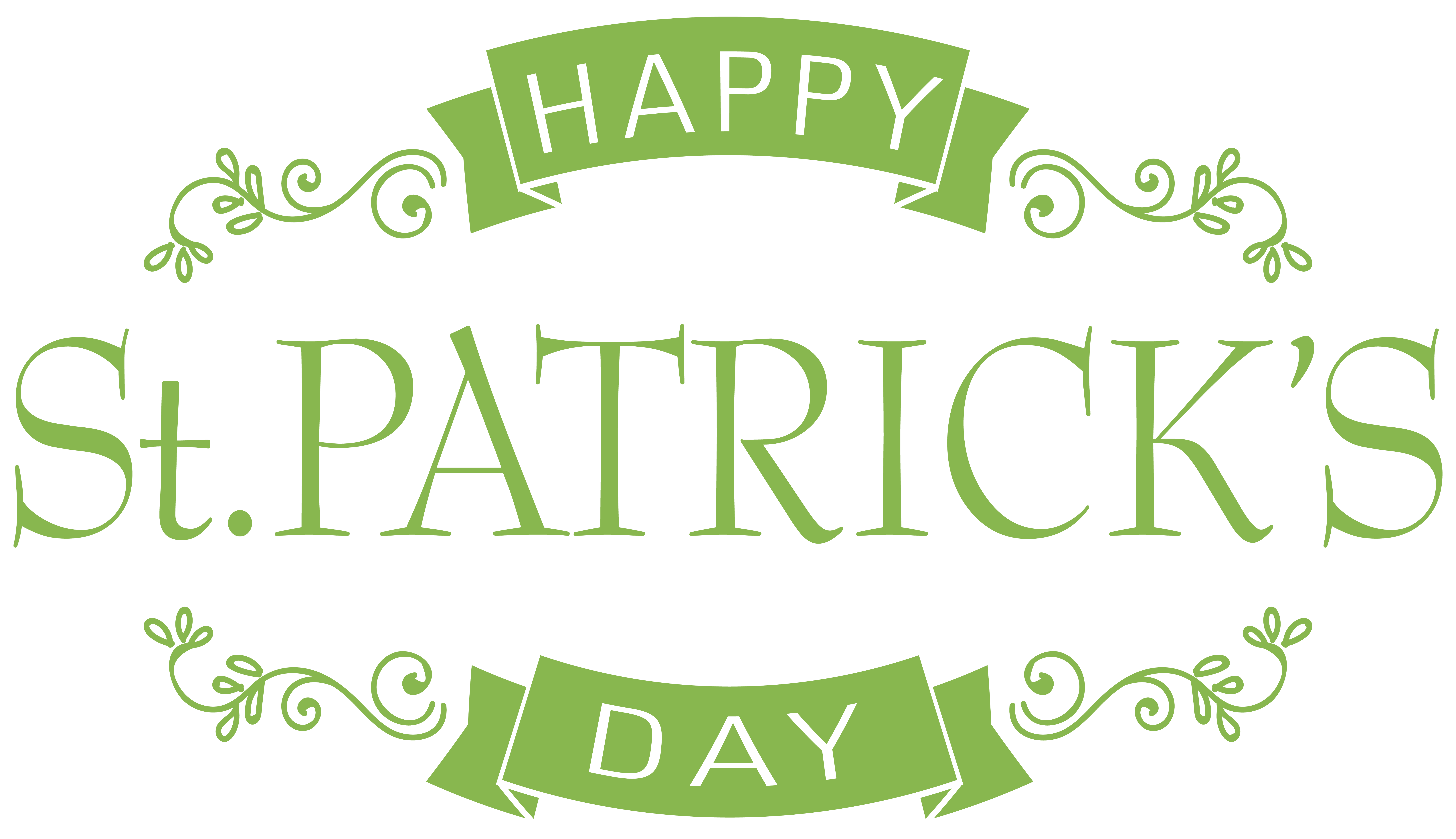 Happy Saint Patrick's Day PNG Clip Art Image | Gallery Yopriceville ...