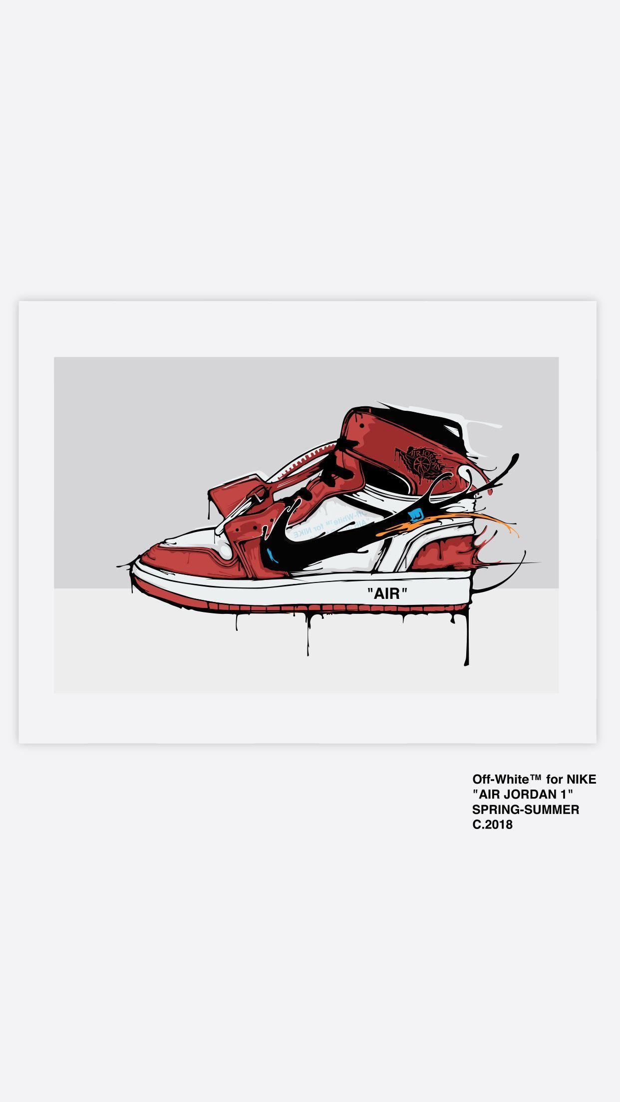 Nike X Off White Wallpapers Wallpaper Cave