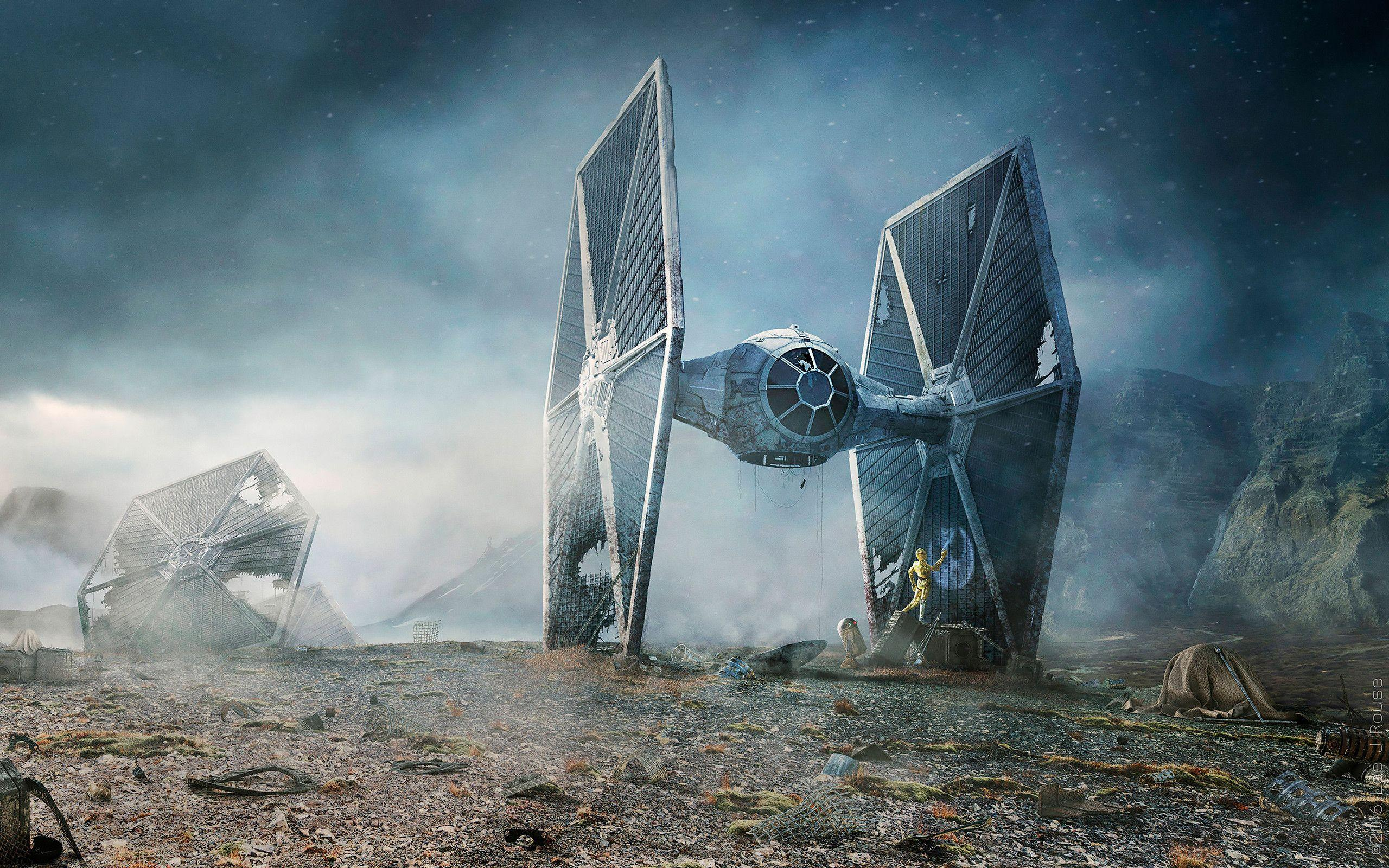 Star Wars Tie Fighter Wallpapers Wallpaper Cave
