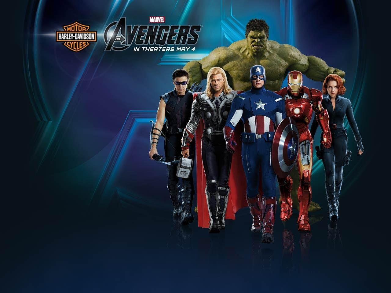 The Avengers image The Avengers Harley Davidson Wallpapers HD