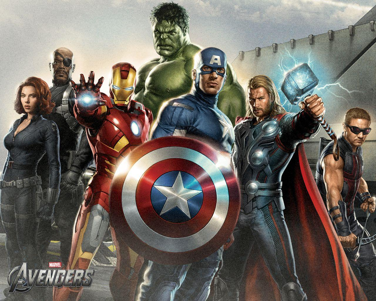 The Avengers' Minute Long TV Spot and More Wallpapers