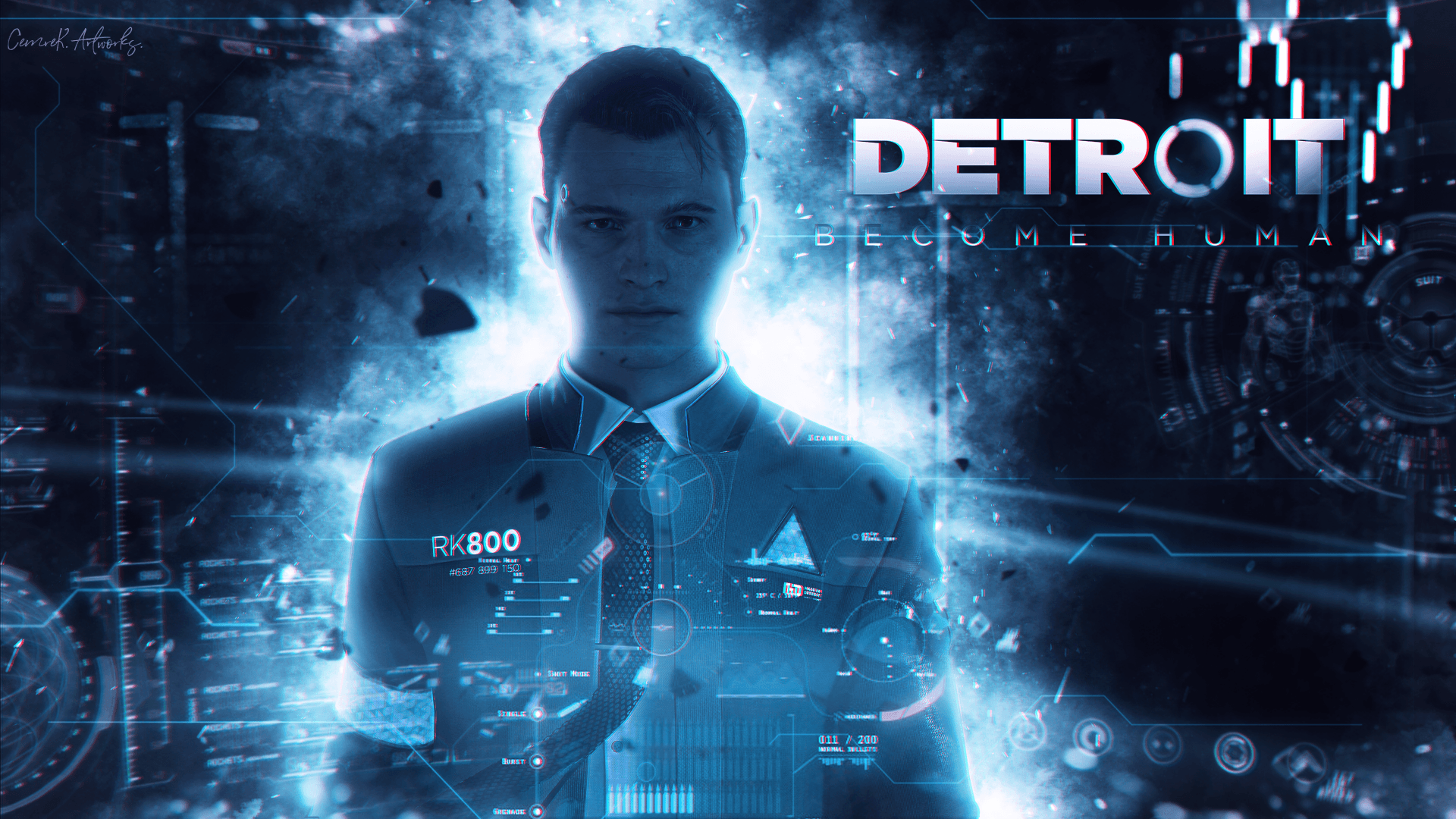 Wallpapers Detroit: Become Human, poster, 4K, Games