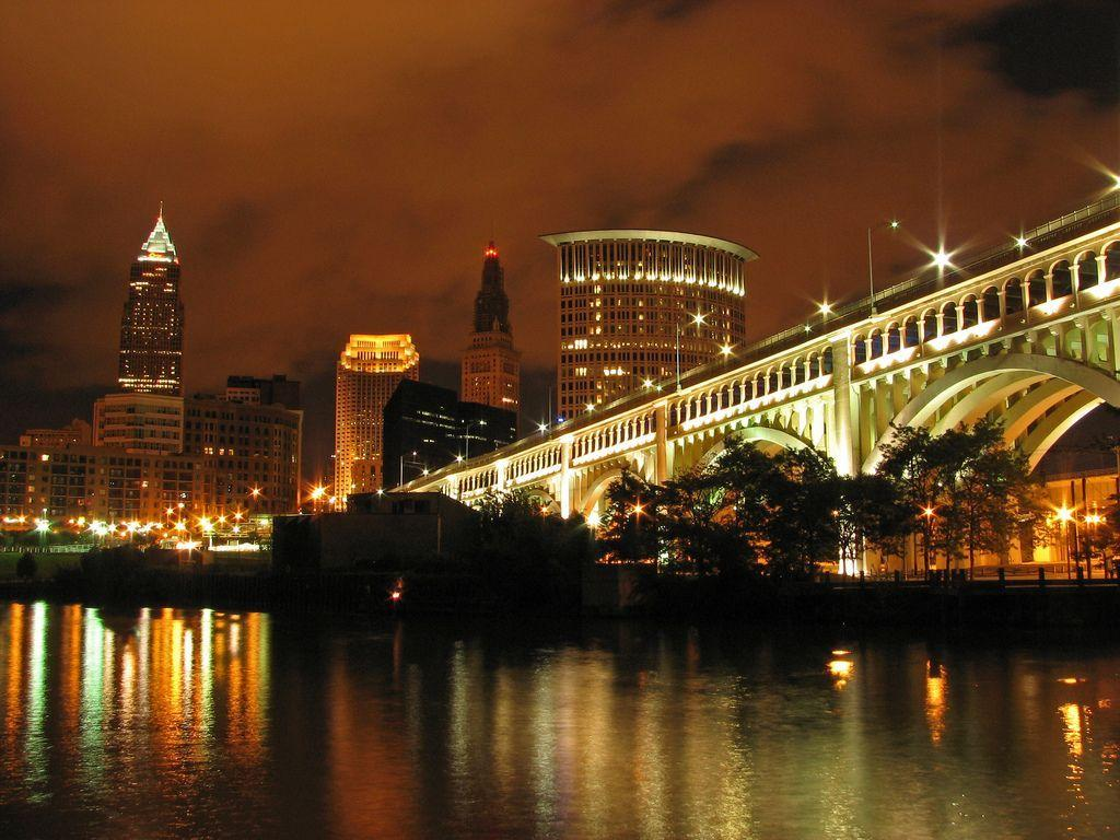 Cleveland Skyline Wallpapers Group