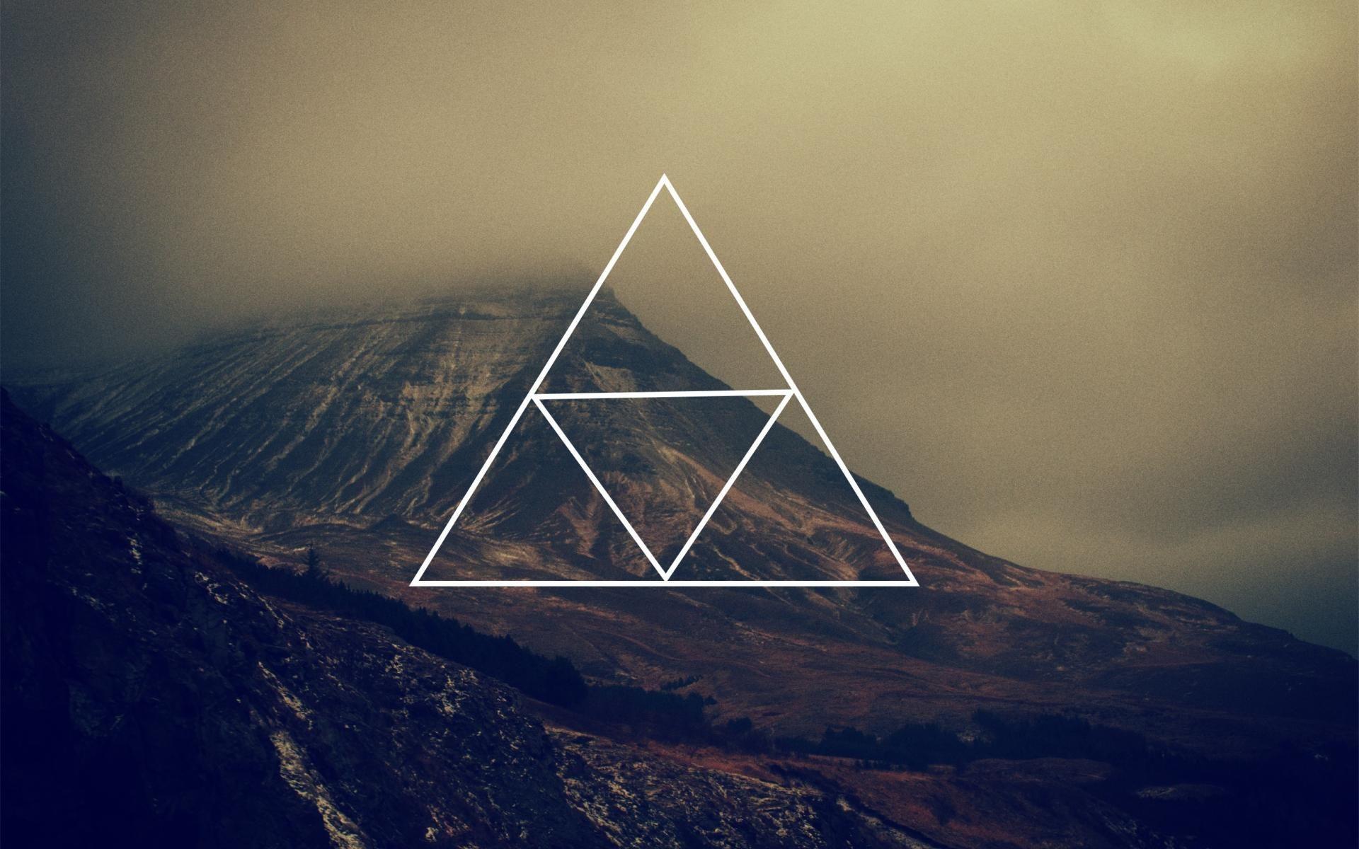 Нины днем, картинка с треугольником