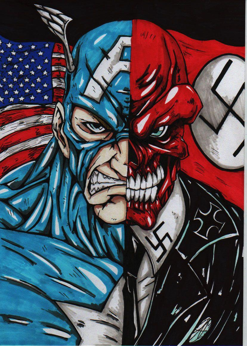 Image of Red Skull Captain America Wallpapers