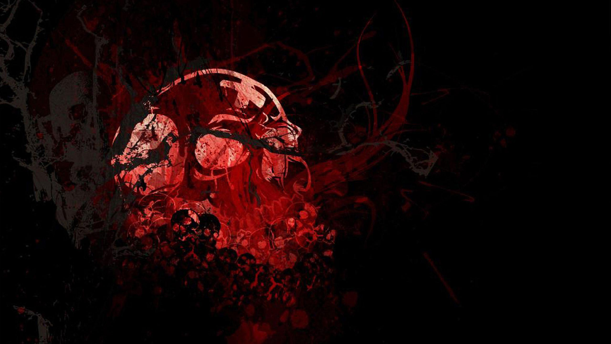 Red skull wallpapers Gallery
