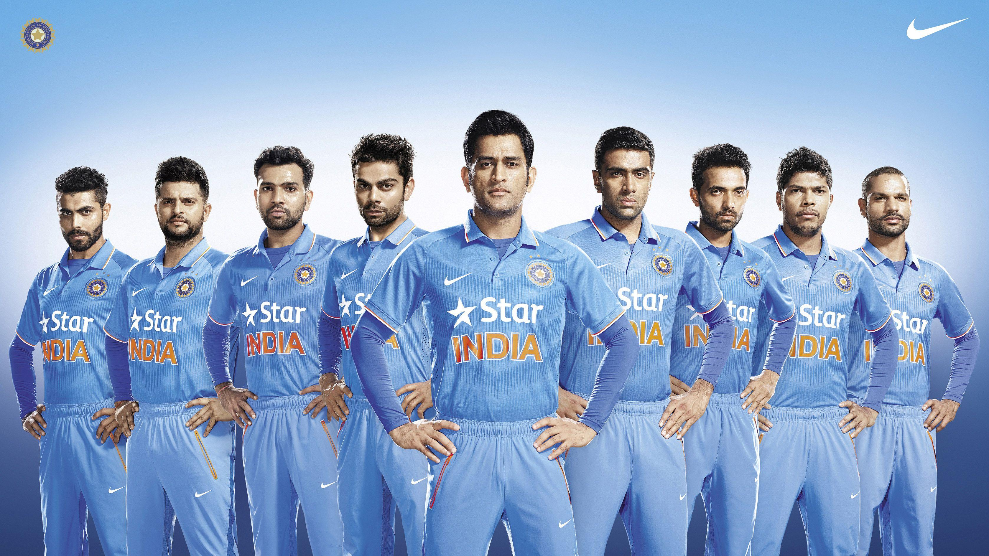 India Cricket Team Teams Background 3