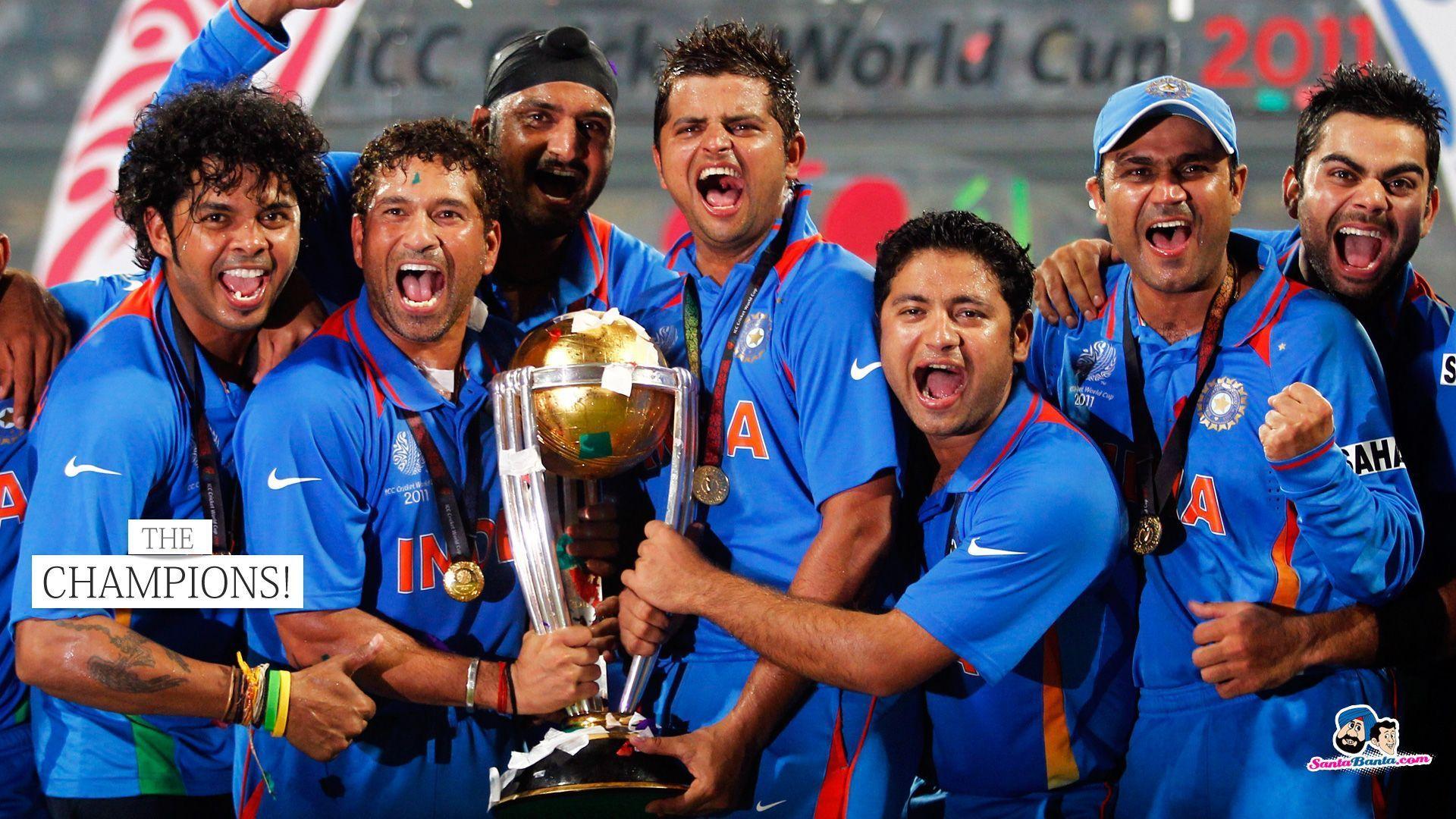 India Cricket Team Teams Background 6