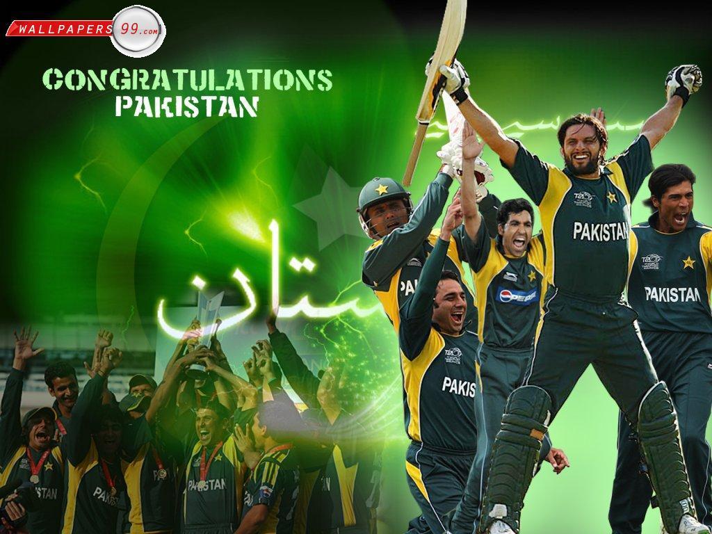 Pakistan Cricket Team Background 9
