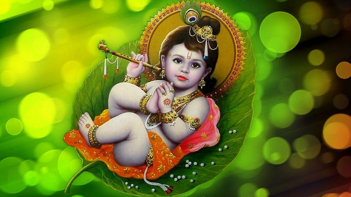 Little Krishna Wallpapers