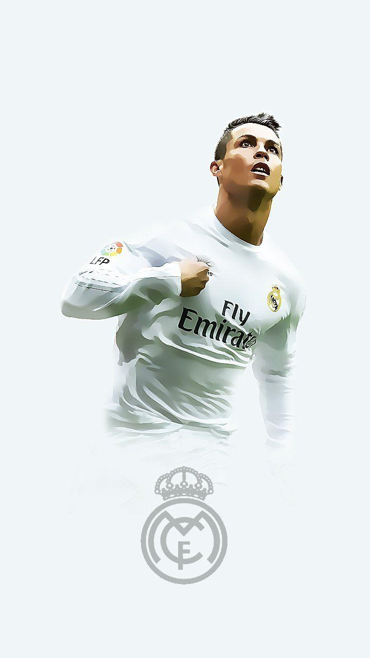 Cristiano Ronaldo Real Madrid Iphone Wallpapers Wallpaper Cave