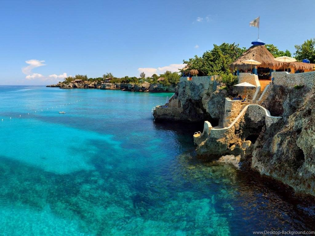 Beautiful The Caves Negril Jamaica Wallpapers Hd Desktop Backgrounds