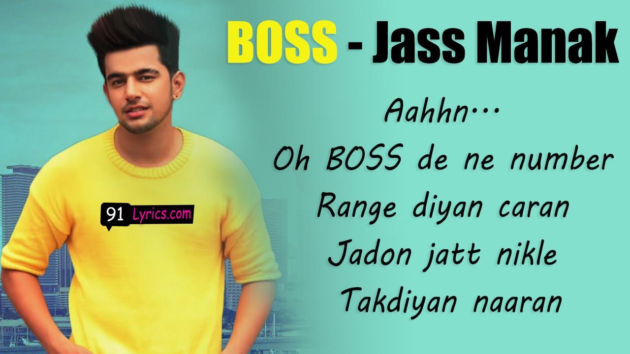 New photo song djpunjab 2020 download jass manak boss