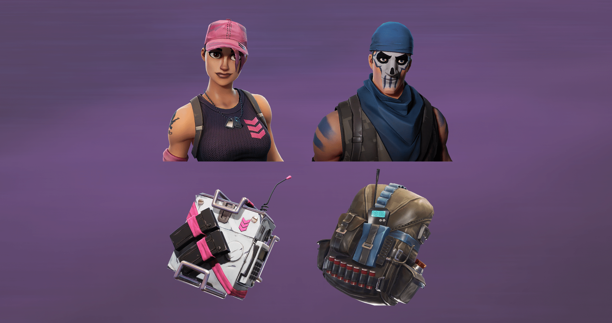 New skins are potentially intended for Founders