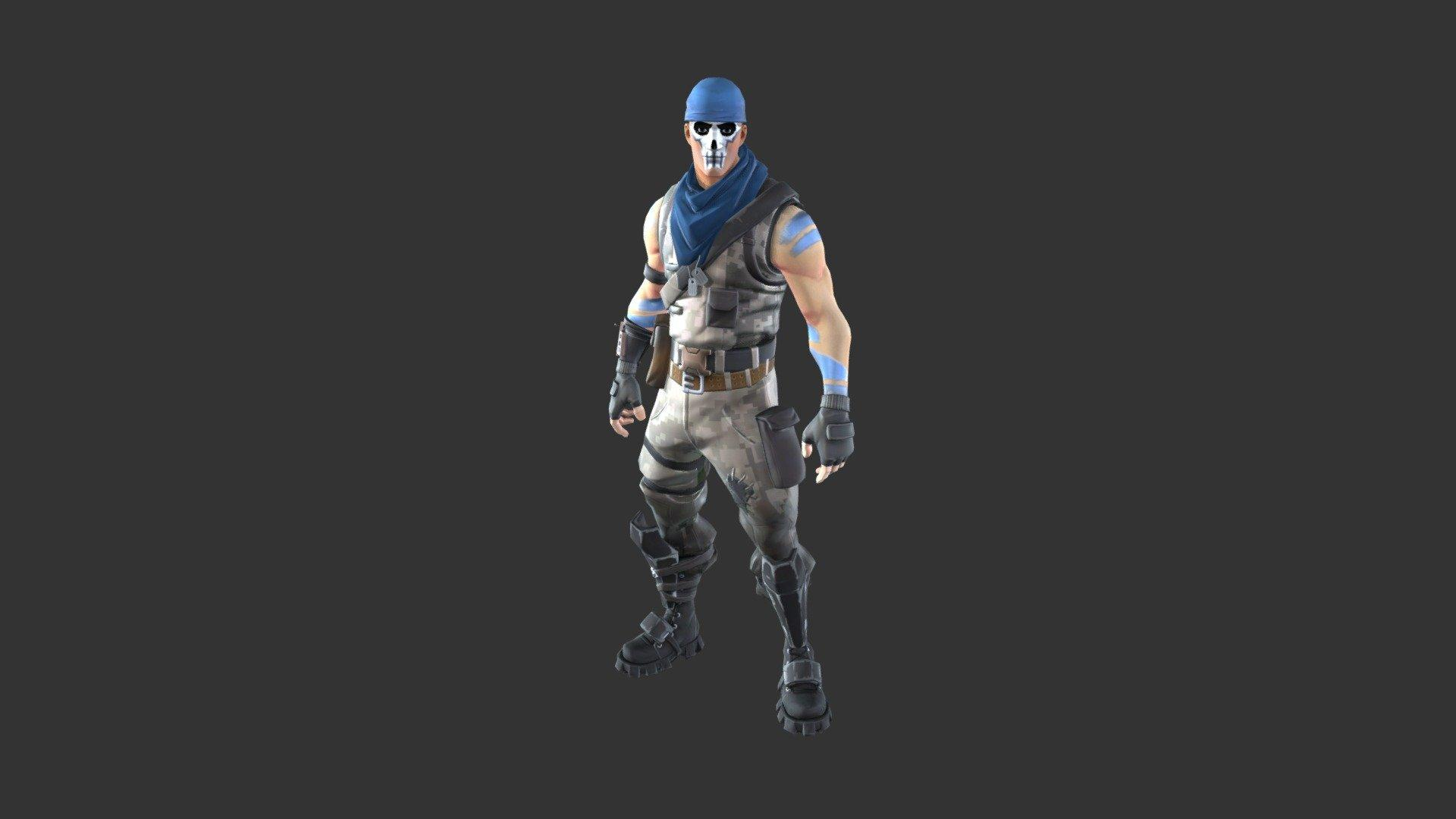 Warpaint Outfit - 3D model by Fortnite Skins (@fortniteskins ...