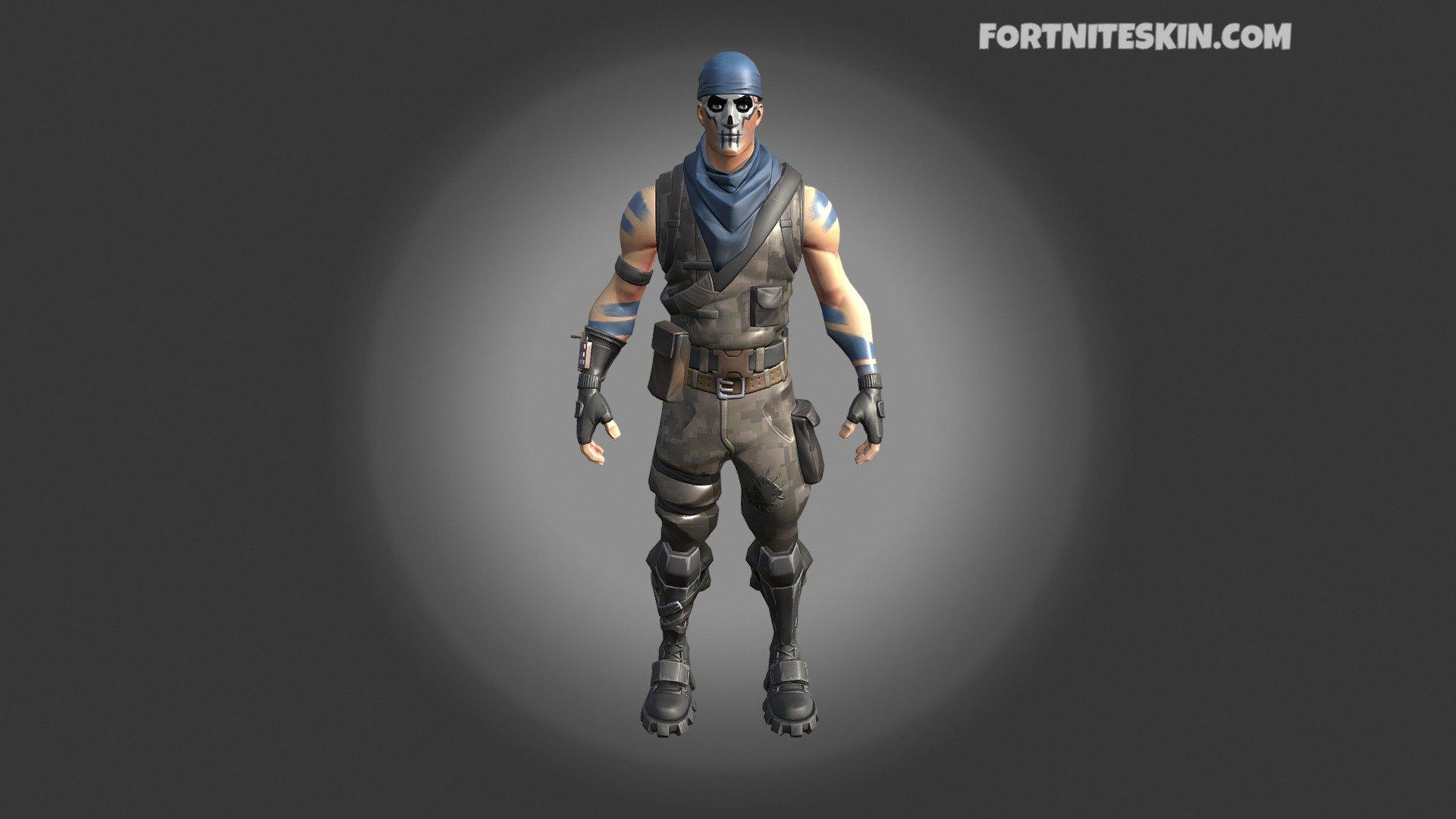FORTNITE Warpaint Outfit - 3D model by FortniteSkin.com ...