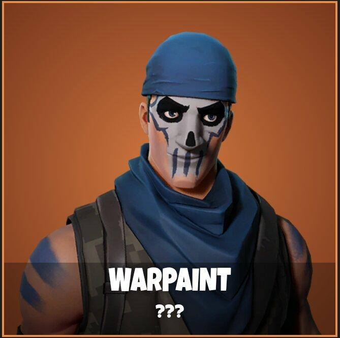 Warpaint Fortnite wallpapers