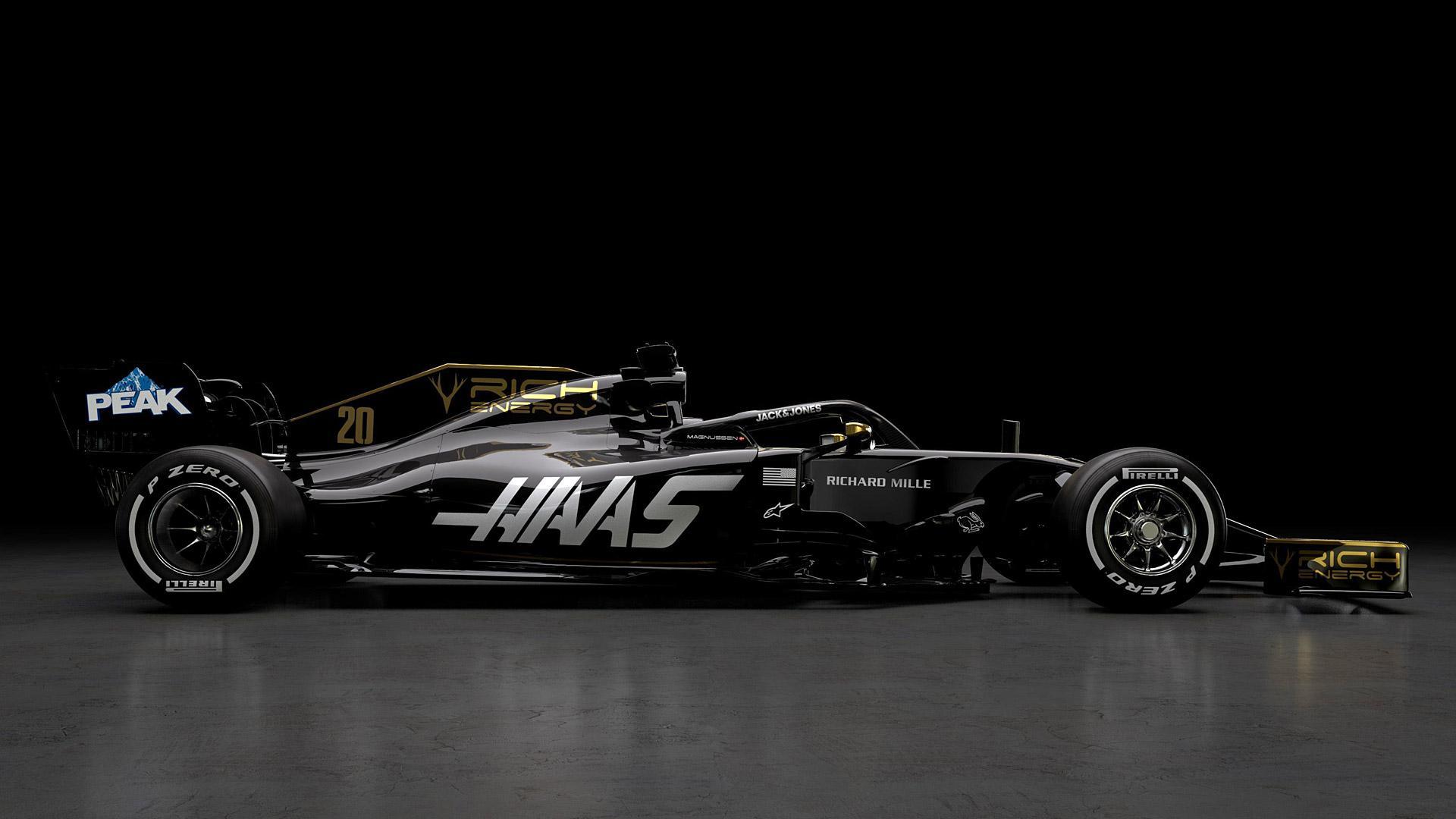 Haas F1 Teams Background 2