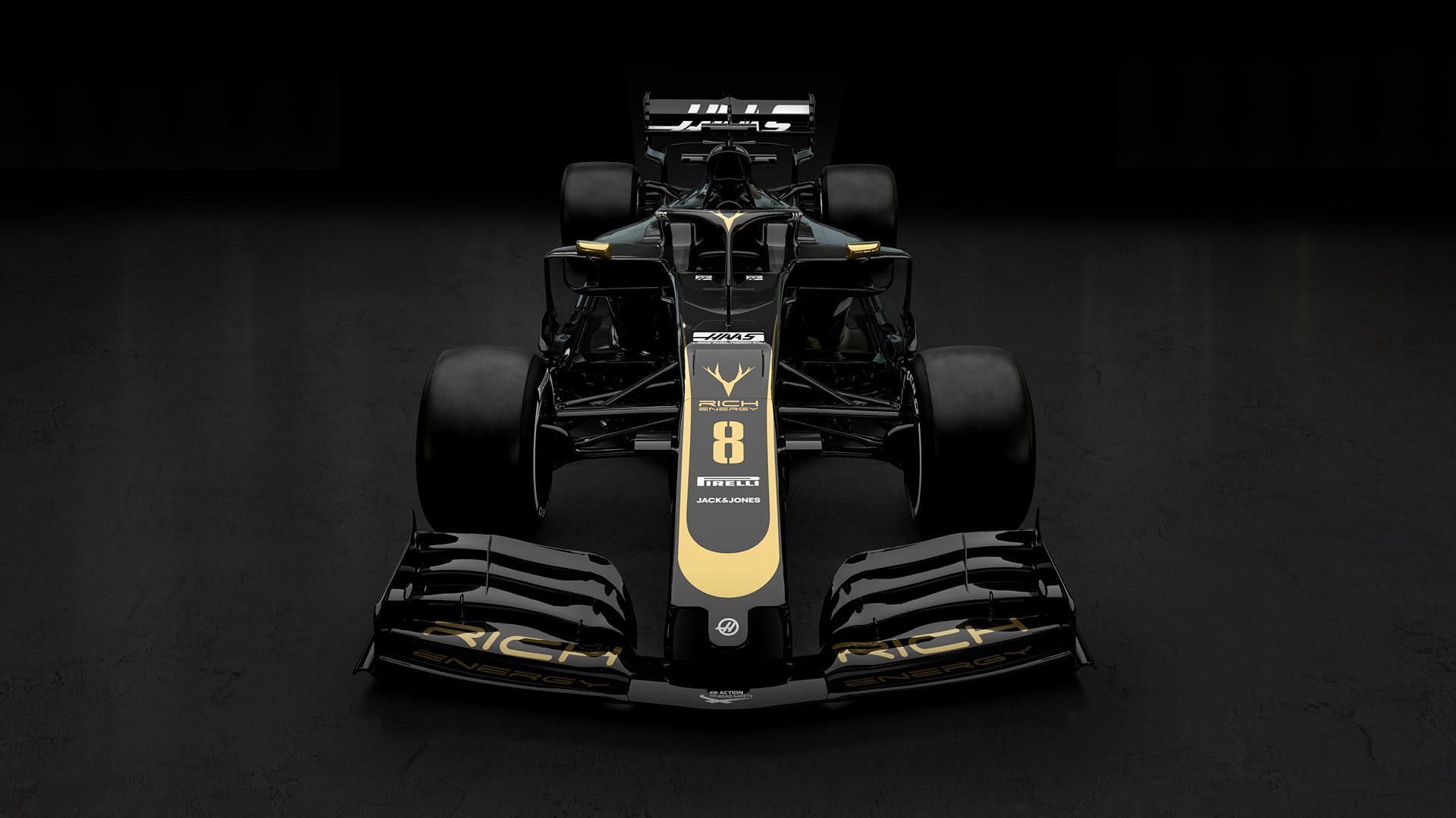 Haas F1 Teams Background 4