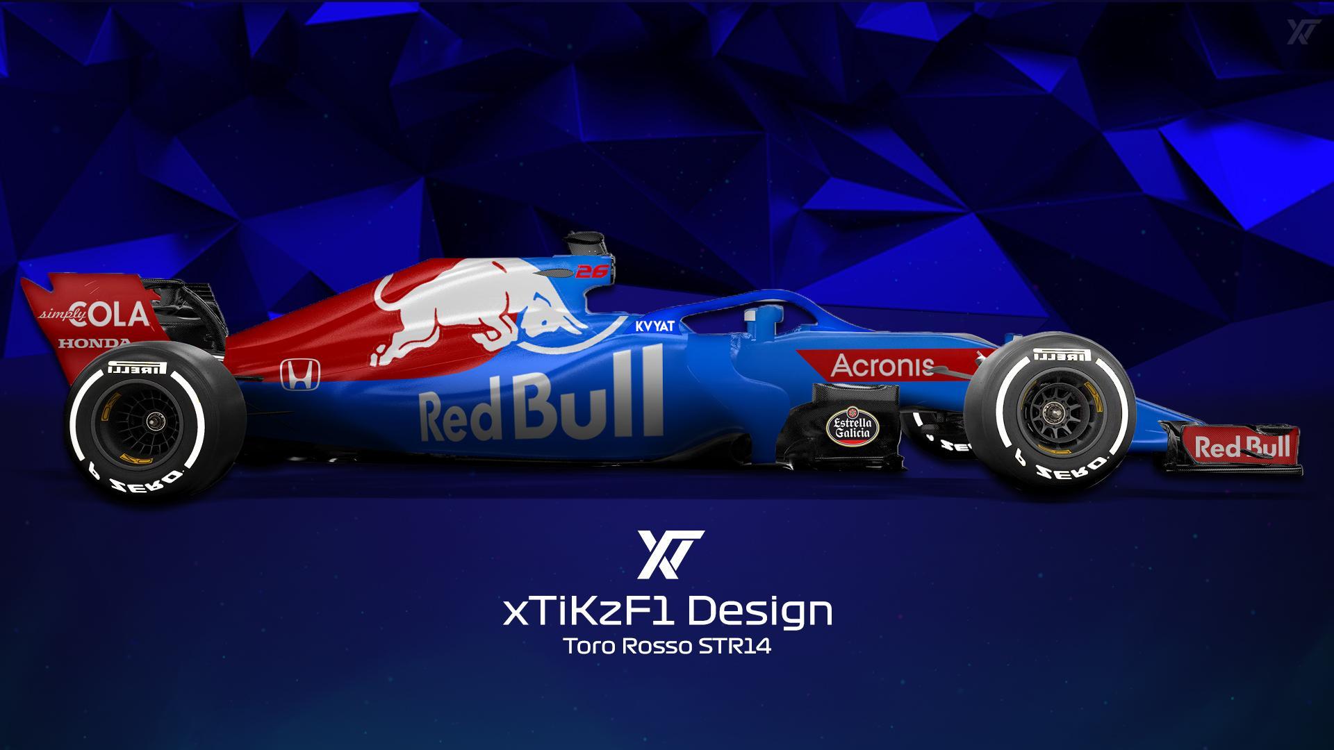 Toro Rosso STR14 Background 8